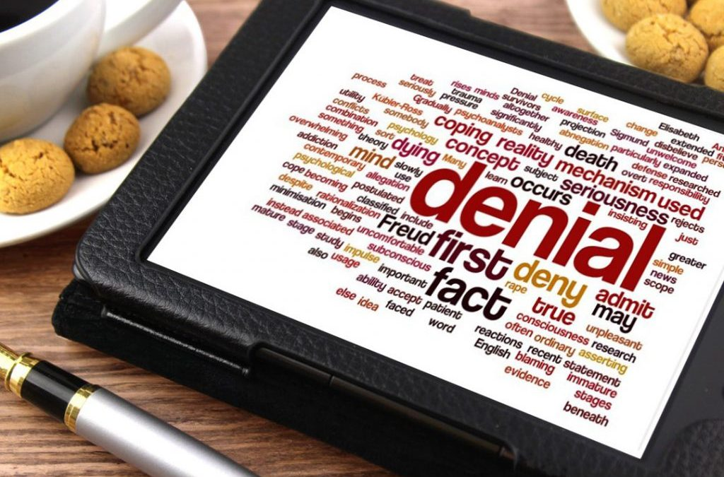 My experience of living with dissociative identity disorder: denial