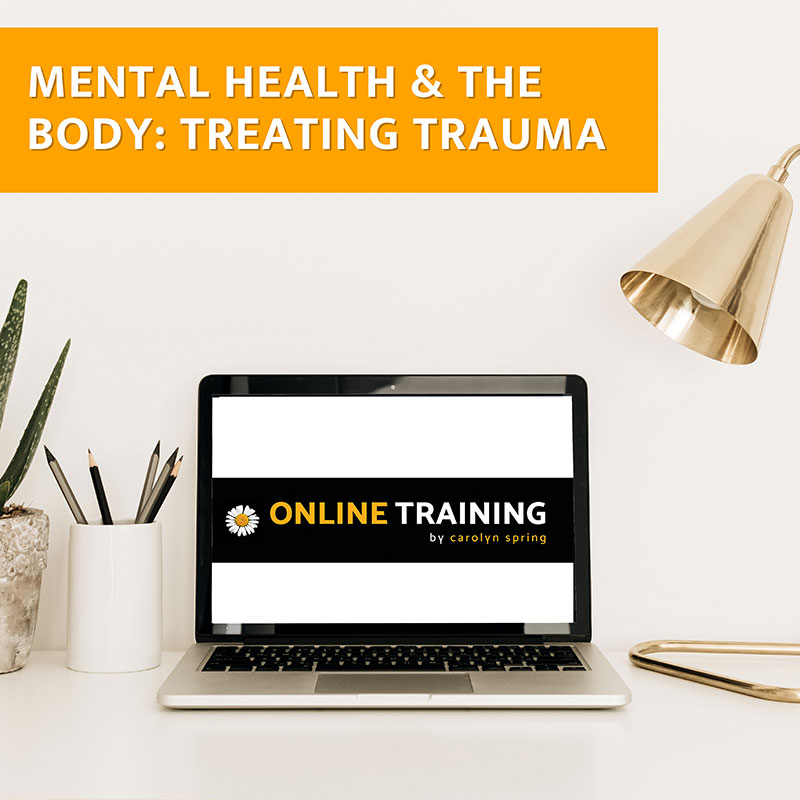 working with suicide and self-harm training